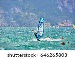 riva del garda  italy  lago... | Shutterstock . vector #646265803