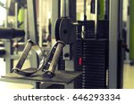 Small photo of equipment in gym