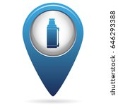 thermos container icon  camping ... | Shutterstock .eps vector #646293388