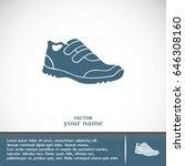 running shoe icon | Shutterstock .eps vector #646308160
