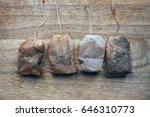 tea bag | Shutterstock . vector #646310773