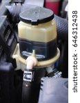 power steering fluid | Shutterstock . vector #646312438