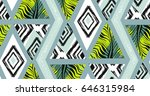 hand drawn vector abstract... | Shutterstock .eps vector #646315984