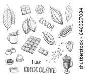 Vector Set Of Hand Drawing....