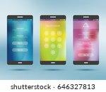 mobile application ui kit...