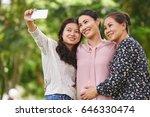 vietnamese girl photographing... | Shutterstock . vector #646330474