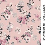 Seamless Floral Pattern In...