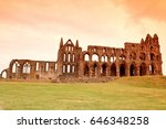 Whitby Abbey Castle  Ruined...
