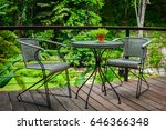 Table And Chair In Nature