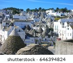 the scenery of alberobello | Shutterstock . vector #646394824