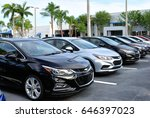 New Chevrolet Cruze Lined Up O...