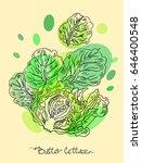 vector hand drawn illustration...   Shutterstock .eps vector #646400548