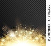 lighting spark. vector... | Shutterstock .eps vector #646401820