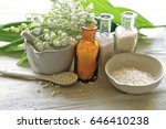 Small photo of Mortal, drags, bottles, spoon , homeopathy medicine