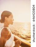 cruise luxury travel elegant... | Shutterstock . vector #646420804