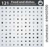 food web icons for user... | Shutterstock .eps vector #646433500