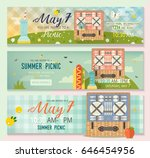 vector collection of flat...   Shutterstock .eps vector #646454956