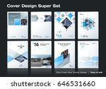 abstract vector business... | Shutterstock .eps vector #646531660