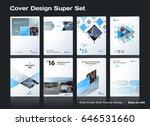 abstract vector business... | Shutterstock .eps vector #646531660