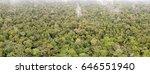 aerial panorama of pristine...   Shutterstock . vector #646551940