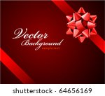 bow vector background | Shutterstock .eps vector #64656169