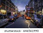 london  uk   october 17  2014 ... | Shutterstock . vector #646561990
