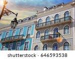 lisbon  bairro alto streets | Shutterstock . vector #646593538
