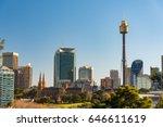 Panoramic View On Sydney Cbd ...