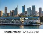 historic woolloomooloo wharf... | Shutterstock . vector #646611640