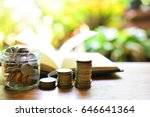 money saving to study for...   Shutterstock . vector #646641364