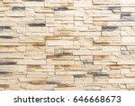 Old Brown Bricks Wall Pattern...