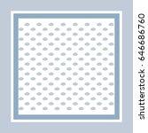 vector pattern  cloud art...   Shutterstock .eps vector #646686760
