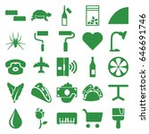 color icons set. set of 25...   Shutterstock .eps vector #646691746