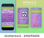 mobile ui. messenger design...
