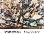 new york   july 02 2016  aerial ... | Shutterstock . vector #646708570