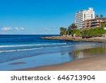 cronulla beach and coastline... | Shutterstock . vector #646713904