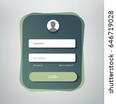 creative login form design