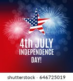 independence day in usa... | Shutterstock .eps vector #646725019