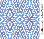 vector abstract seamless... | Shutterstock .eps vector #646729666