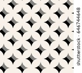 modern geometric seamless star... | Shutterstock .eps vector #646744648