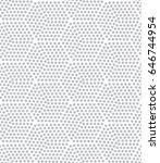 vector grey pattern. geometric...   Shutterstock .eps vector #646744954
