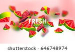 creative background with low... | Shutterstock .eps vector #646748974