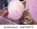 making of the cotton candy | Shutterstock . vector #646756573