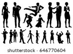 a set of very high quality...   Shutterstock .eps vector #646770604