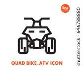 quad bike icon  all terrain...