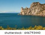 black sea coastline  crimea ... | Shutterstock . vector #646793440