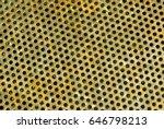 Color Metal Grid Floor Pattern...