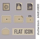 set icons modes of money. flat. ...
