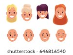woman  pretty faces with...   Shutterstock .eps vector #646816540