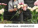 Male Florist Creating Beautiful ...